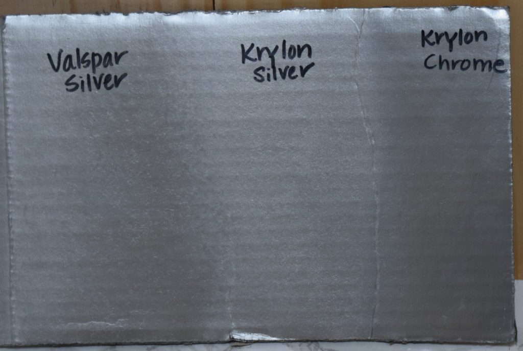 comparison of metallic silver spray paints-1
