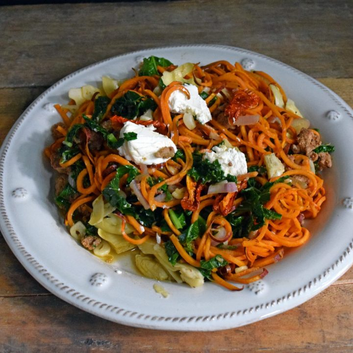 Mad Sweet Potato Pasta