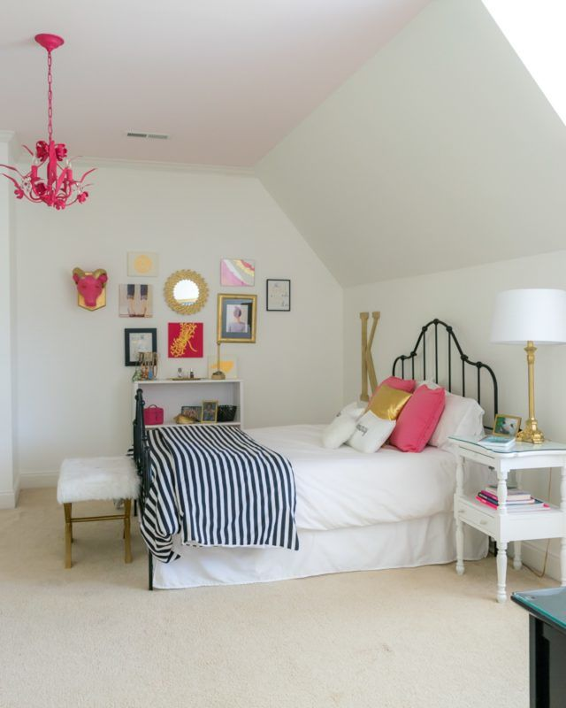 From Tween to Teen: Bedroom Renovation. Decorating Ideas for a Girl's Bedroom.