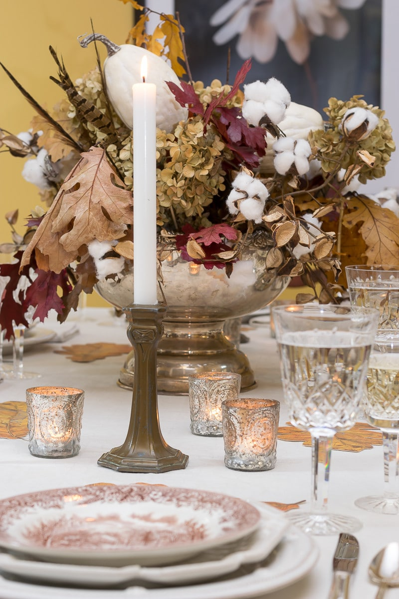 Set your table ahead of time for a less stressful Thanksgiving week