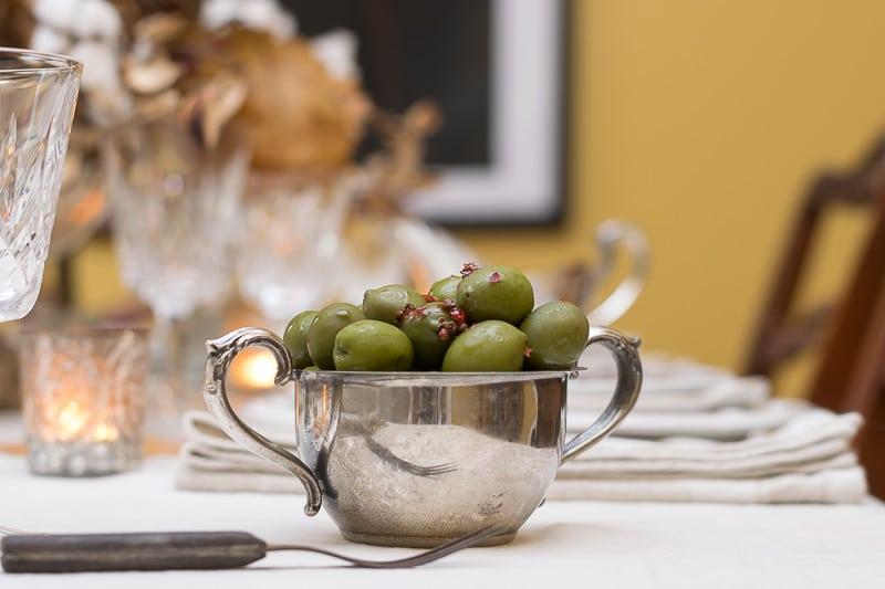 Marinated Castelvetrano olives