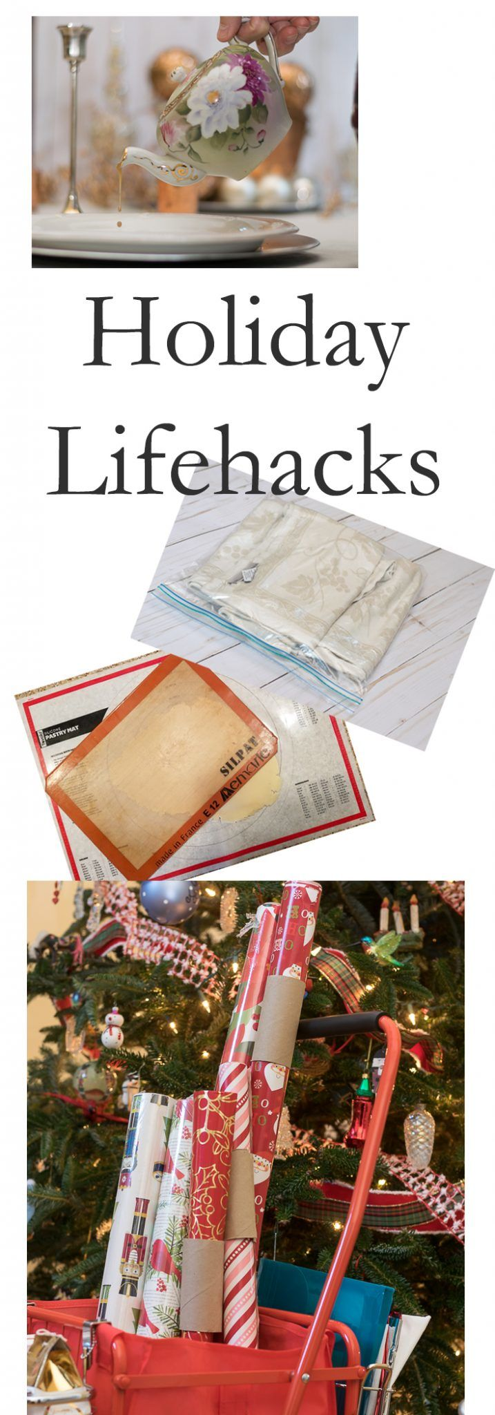 Holiday Lifehacks and useful tips to make your holiday and entertaining just a little easier, less expensive or to help you work smarter during the holidays. Hacks and Life Hacks.