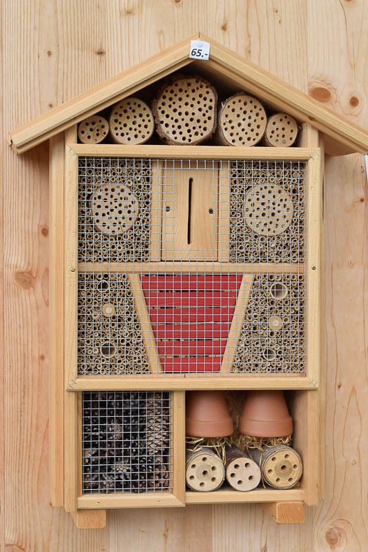 Insect hotel in Sisi Park, Bad Ischl, Austria