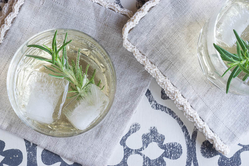 Lillet Blanc's unique, citrusy profile is perfect for warm-weather cocktails. This Rosemary Lillet Spritzer combines Lillet Blanc with Rosmary Simple Syrup and Seltzer water for a bright and fresh drink.