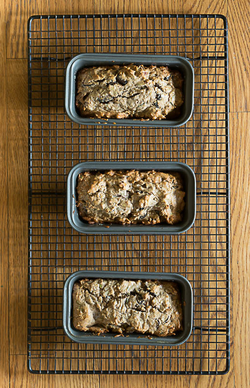 Mini-Loaves of Rosemary, Fig and Nut Bread