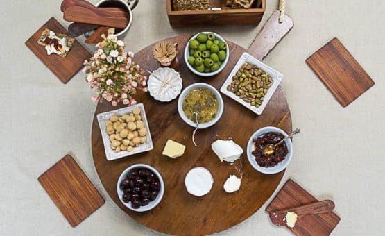 A Grazing Board is an easy option for dinner, lunch or appetizer. There are no rules and you can make it as simple or extravagant as you would like.