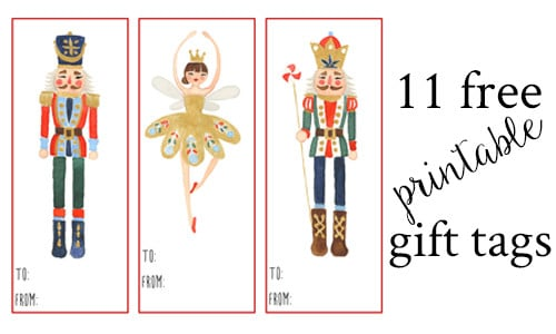 picture about Christmas Tags Printable called 11 Absolutely free Printable Present Tags For Xmas Reward Wrap