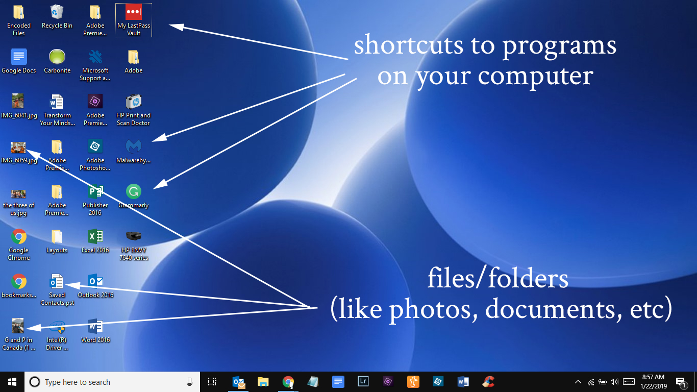 what to delete on desktop