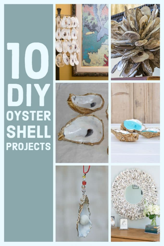 Ten Great DIY Oyster Shell Crafts