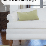 Old Sofa with New Legs