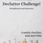 Bottles of Shampoo are cleaned up during this declutter challenge