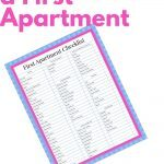 Image of Checklist to help you plan a first apartment